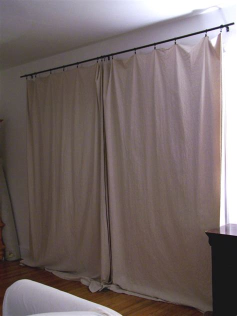 canvas curtain 301 moved permanently