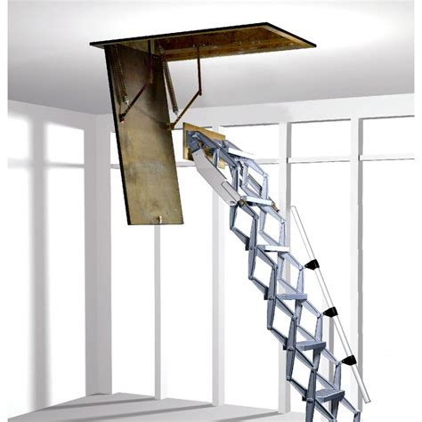 Ceiling Access Ladder by Folding Loft Ladder With Concertina Zedfolding Mechanism