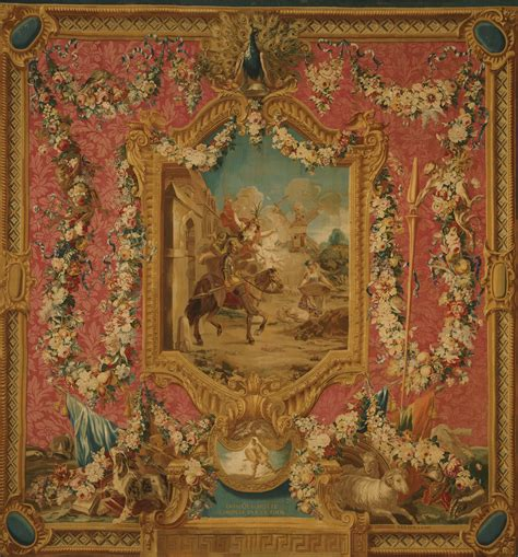 Tapisserie Gobelins by File Woven At The Gobelins Tapestry Manufactory