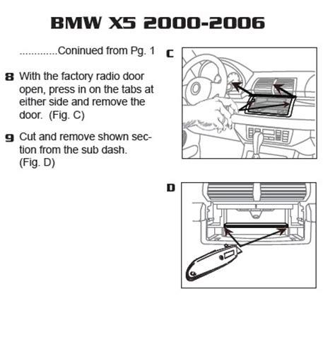 2005 bmw x5installation