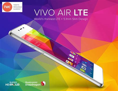 Air Lte wholesale brand new vivo air 4g lte v0000uu white gsm