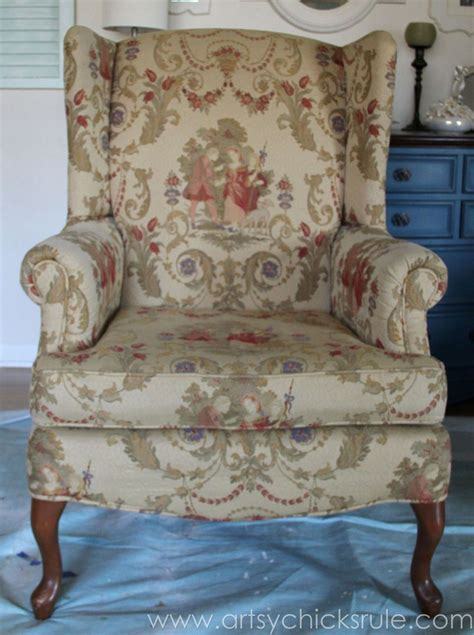 hometalk painted upholstered chair annie sloan chalk paint