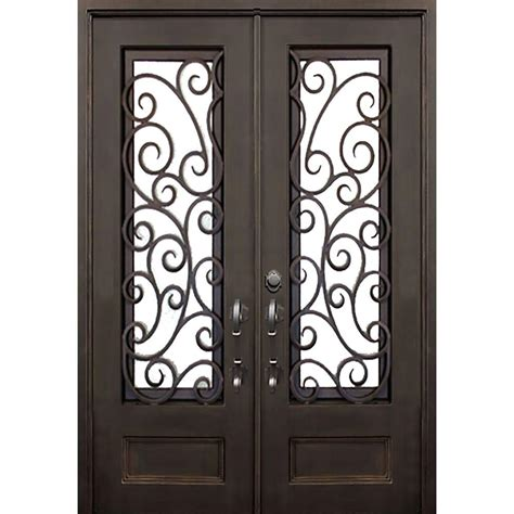 Bronze Door by Iron Doors Windows 72 In X 96 In Lauderdale