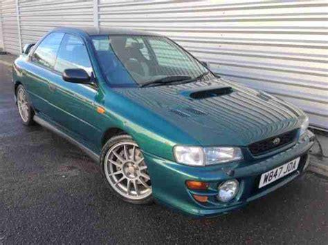 green subaru wrx subaru impreza wrx sti spares or repair car for sale