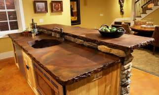 countertops ideas concrete countertop bar diy concrete kitchen countertop designs ideas pictures amp diy tips