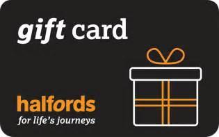 e gift certificates halfords egift card