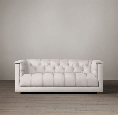 restoration hardware style sofa restoration hardware sofa thearmchairs restoration