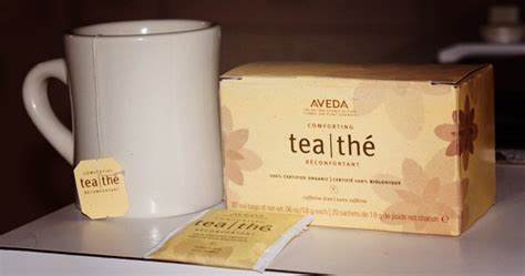 aveda comfort tea why we love aveda comforting tea bagslife or depth