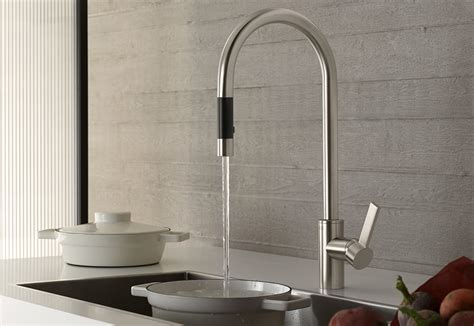 Pull Down Faucets Kitchen by Tara Ultra Pull Down By Dornbracht Stylepark