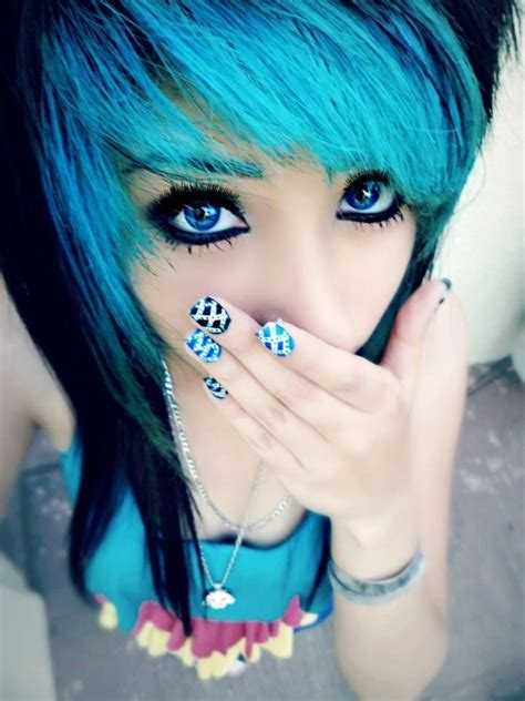 emo hairstyles thin hair 1519 best images about pretty hair on pinterest scene
