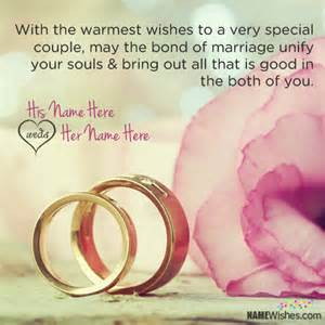 wedding wishes to wedding wishes with quote and name editing