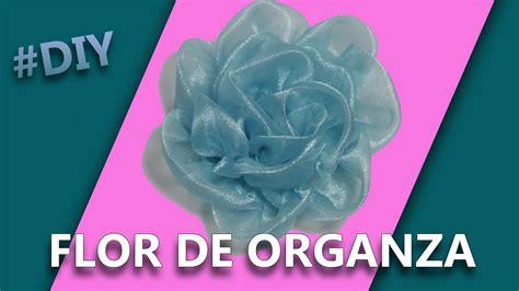 tutorial de zumba para hacer en casa como hacer una flor con tela organza manualidades