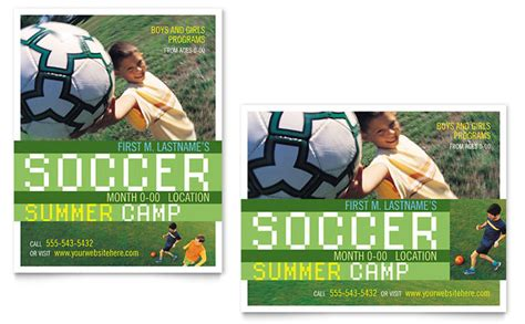 soccer poster template soccer sports c poster template design