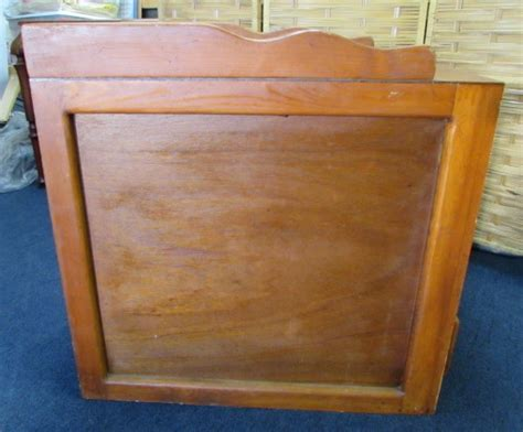 vintage changing table lot detail vintage wood changing table