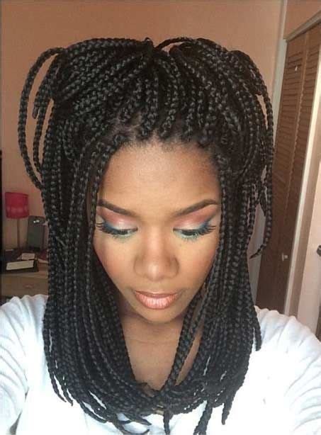 medium size box braids with a bang 51 hot poetic justice braids styles box hair style and