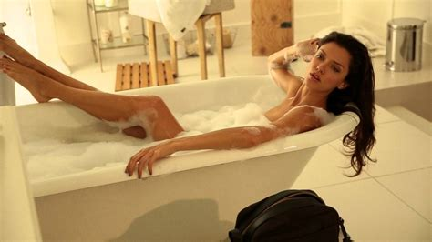 in bathtub anna christina in a bath tub with maxim magazine fashiontv