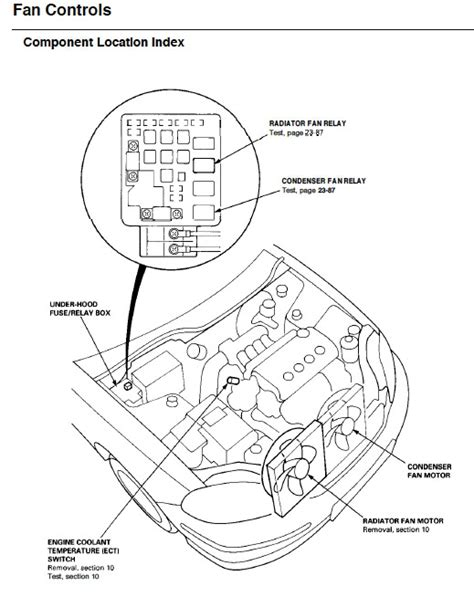 1994 honda accord radiator fan wiring diagram honda auto