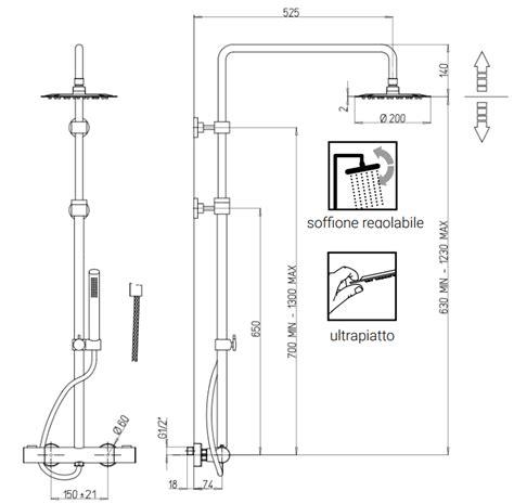 montaggio miscelatore doccia sunset 0su00199ja05 colonna doccia miscelatore