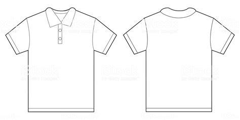 White Polo Shirt Design Template For Men Stock Vector Art More Images Of 2015 494945574 Istock Polo Shirt Template