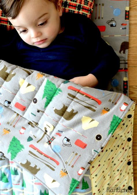 Www Handcraft - snap up sleeping bag tutorial modern handcraft