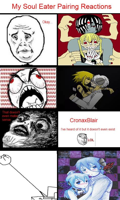 Soul Eater Memes - my souleater pairing memes by eurades on deviantart