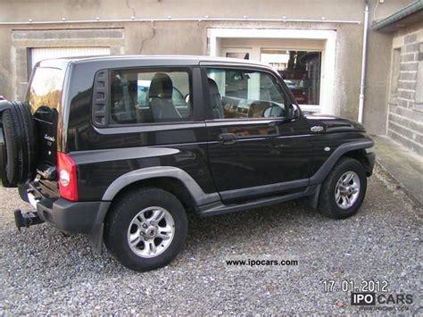 ssangyong korando 2005 2005 ssangyong beau korando 2 9l td car photo and specs