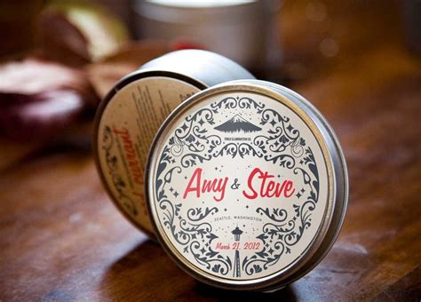 Customized Wedding Giveaways - unique wedding favors customized travel candles onewed com