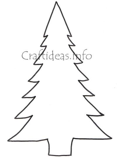 free printable christmas tree cutouts stencil of a tree outline cliparts co