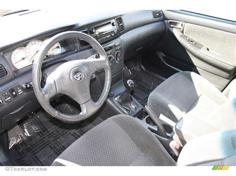 2006 toyota corolla s interior photos gtcarlot