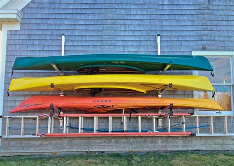 Kayak Shelf by Wall Mounted Kayak Canoe Storage Rack