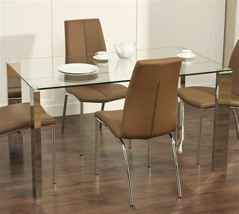 glass modern dining table modern glass dining table buungi