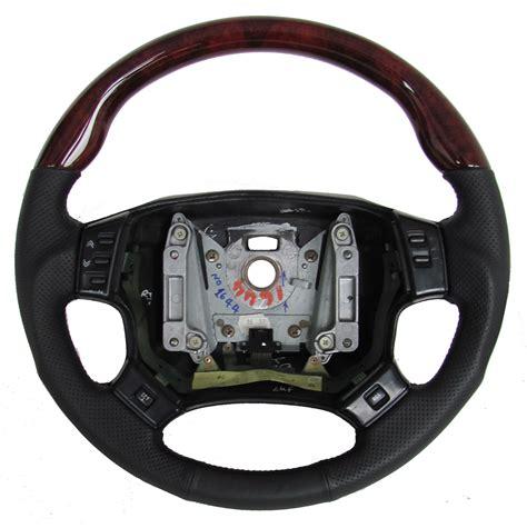 land rover steering wheel cover gloss walnut wood leather sport steering wheel range rover