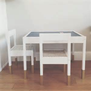 Toddler Table And Chairs Ikea Best 25 Chalkboard Table Ideas On Pinterest