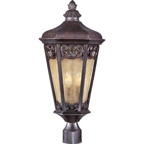 colonial outdoor lighting fixtures maxim lighting crown hill outdoor pole post mount 1035rp