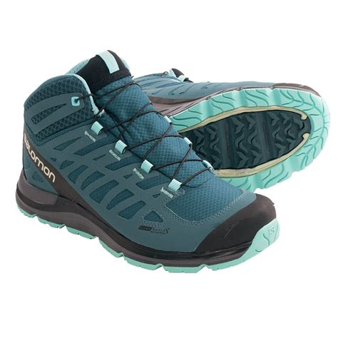 deals salomon synapse mid cs hiking boots waterproof