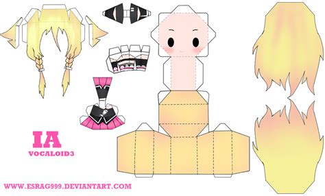 Papercraft Origami - ia papercraft by esrag999 on deviantart paper craft
