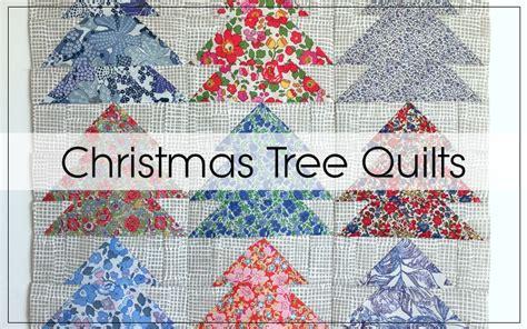 christmas tree quilt blocks blossom heart quilts