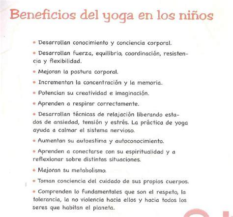 imagenes de yoga beneficios escuela de familias yoga para ni 241 os