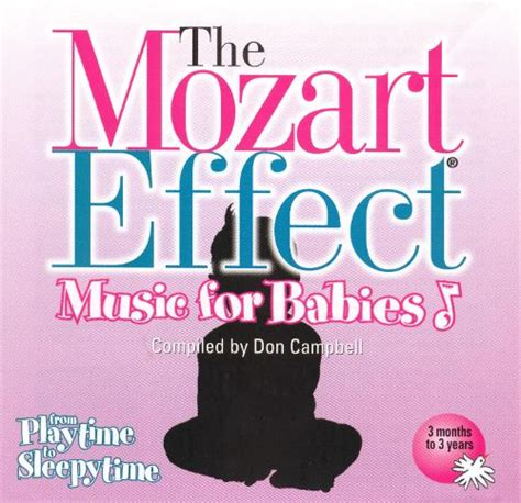 Cd The Mozart Effect For Babies Vol2 the mozart effect for babies vol 1 from playtime to sleepytime don cbell songs