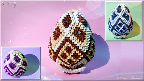 How To Make Origami Easter Eggs - origami easter egg image collections craft decoration ideas