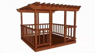 rectangle gazebo plans  woodworking projects plans