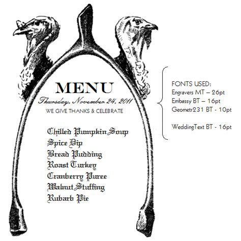thanksgiving menu templates free 7 best images of printable thanksgiving menu template
