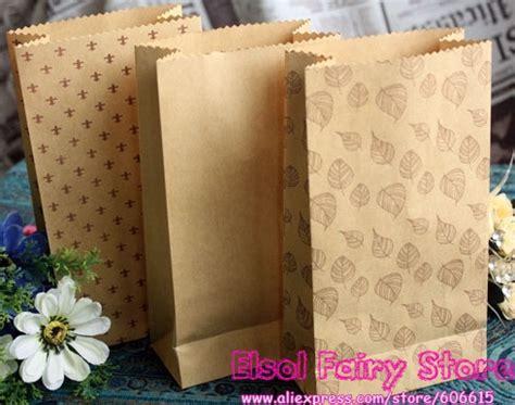 30pcs 3 pattern kraft paper favor bags open top gift treat bags big size diy paper bags