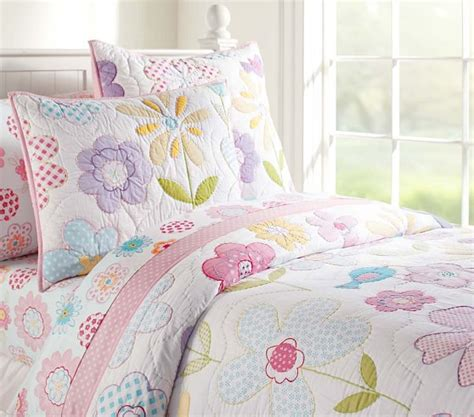pottery barn girls bedding avery quilted bedding pottery barn kids