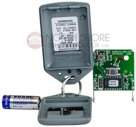 Garage Door Opener Vs Transmitter Doorking Microclik 1 Ch Gate Garage Door Opener