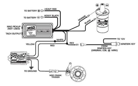 msd 6al to hei distributor wiring diagram msd gm hei