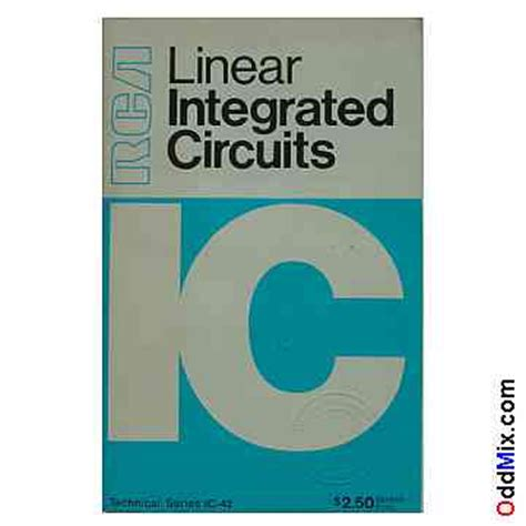 linear integrated circuits books rca linear integrated circuits ic 42 book