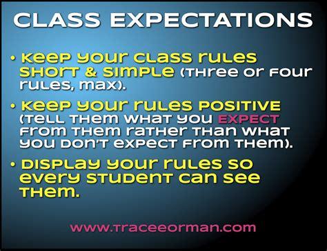 ormans classroom    classroom rules