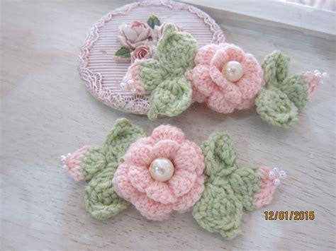 Handmade Shabby Chic - 2pcs 4 shabby chic handmade crochet