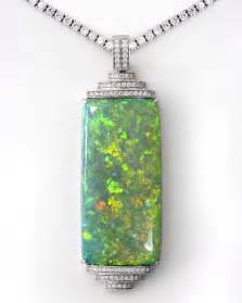 green opal necklace 586 best opal images on pinterest gemstones beautiful